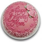Shades of pink princess birthday cake