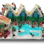 Gingerbread resort